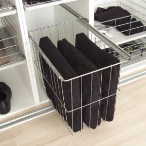 Vasketøjskurv til garderobe